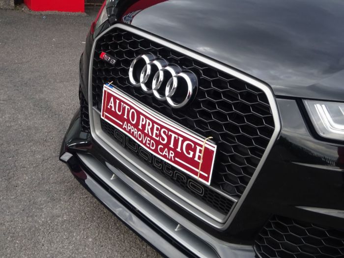 Audi RS6 4.0T FSI Quattro RS 6 Performance 5dr Tip Auto HUGH SPEC WRC PLATE NUMBER FASH PAN ROOF Estate Petrol Black
