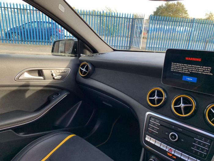 Mercedes-Benz A Class 2.0 A45 4Matic Yellow Night Edition 5dr Auto RARE LIMITED EDITION Hatchback Petrol Black
