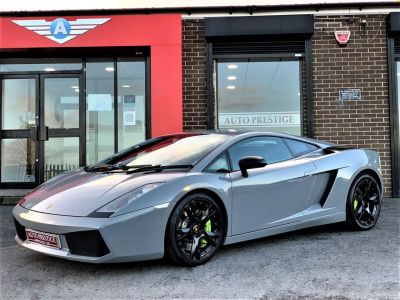 Lamborghini Gallardo 5.0 Coupe 2dr NARDO GREY WRAP BRANDING PACK CALLISTO ALLOYS MASSIVE HISTORY FILE Coupe Petrol WhiteLamborghini Gallardo 5.0 Coupe 2dr NARDO GREY WRAP BRANDING PACK CALLISTO ALLOYS MASSIVE HISTORY FILE Coupe Petrol White at Autoprestige Bradford