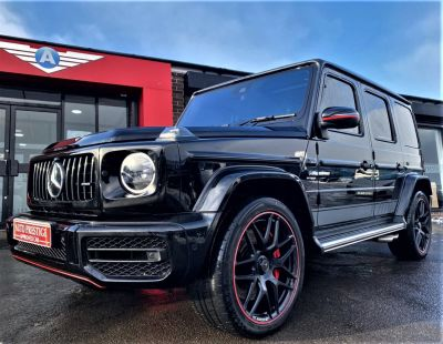 Mercedes-Benz G Class 4.0 G63 5dr 9G-Tronic AS NEW BLACK HUGE SPECIFICATION Estate Petrol BlackMercedes-Benz G Class 4.0 G63 5dr 9G-Tronic AS NEW BLACK HUGE SPECIFICATION Estate Petrol Black at Autoprestige Bradford
