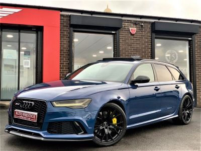 Audi RS6 4.0T FSI Quattro Performance 5dr Tip Auto HUGE SPEC NIGHT VISION 360 CAMERA 100K NEW Estate Petrol BlueAudi RS6 4.0T FSI Quattro Performance 5dr Tip Auto HUGE SPEC NIGHT VISION 360 CAMERA 100K NEW Estate Petrol Blue at Autoprestige Bradford