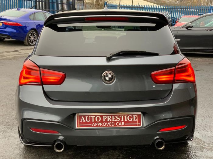 BMW 1 Series 3.0 M135i 5dr Step Auto STAGE 2 PRO NAV MPE EXHAUST Hatchback Petrol Grey