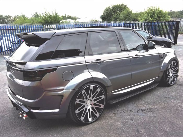 Land Rover Range Rover Sport 5.0 RROVERSPORT ABIOG DYN V8 VZR 600 WIDE ARCH WITH EVERY EXTRA BESPOKE EDITION Four Wheel Drive Petrol Pearl Grey