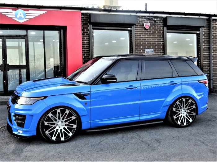 Land Rover Range Rover Sport 3.0 HSE SDV6 BI-TURBO VZR-600 EDITION WIDE BODY LATEST VOODOO BLUE WITH EXTRAS Four Wheel Drive Diesel Voodoo Blue