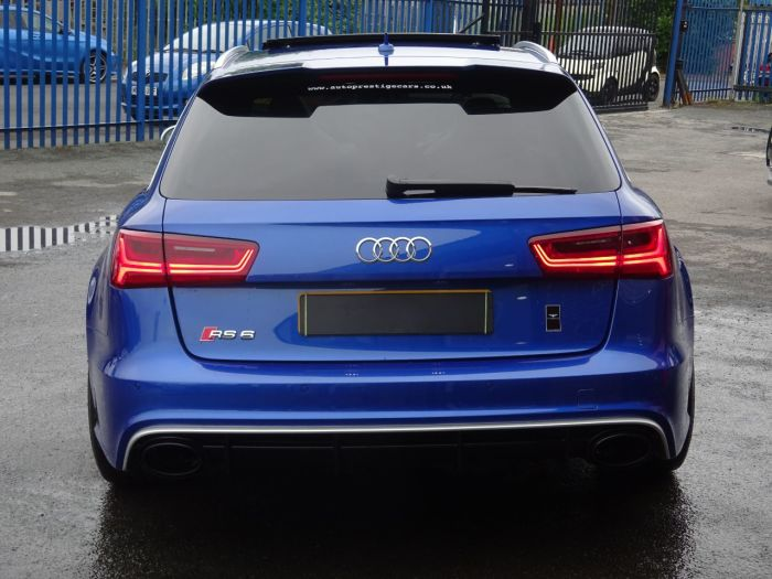 Audi RS6 4.0T FSI Quattro RS 6 Performance 5dr Tip Auto JUST LOOK AT THE SPEC NEARLY EVERY EXTRA RARE CAR Estate Petrol Blue