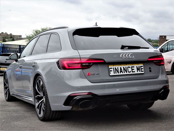 Audi RS4 2.9 TFSI Quattro 5dr Tip tronic AS NEW MASSIVE SPEC WITH NEARLY ALL OPTIONS VATQ Estate Petrol Nardo Grey