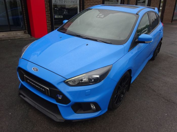 Ford Focus Rs 2.3 EcoBoost 5dr WITH EVERY EXTRA NITRO BLUE 66 REG MOUNTUNE 375 SHELL SEATS SUNROOF Hatchback Petrol Blue