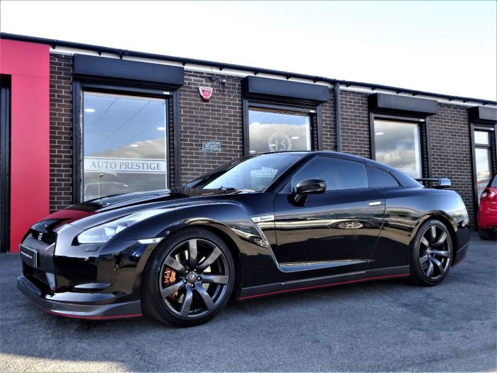 Nissan GT-R 3.8 Black Edition 2dr Auto [Sat Nav] WITH UPGRADES 600 BHP PLUS GTR PLATE Coupe Petrol Black